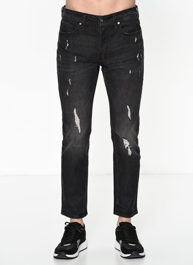Jack & Jones Jean Pantolon | Tim - Slim Siyah